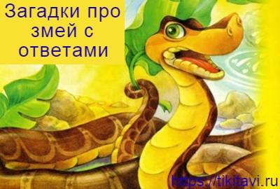 Загадка про змею